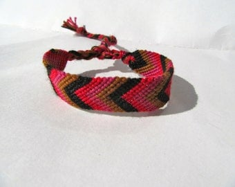 Friendship Bracelet -Chevron - Indian