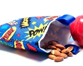 Reusable Snack Bag-Super Hero