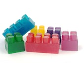 Organic Soap natural homemade soap glycerin building blocks Soap Art by ScENT
