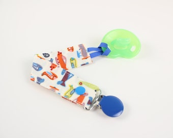Airplane Pacifier Clip