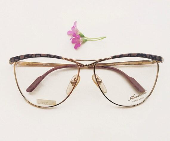 Eyeglass Frames Fairview Heights Il : Annabella montatura Vintage anni 80 / occhiali in metallo