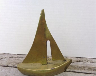 Brass Sailboat