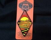 Blacktop pin