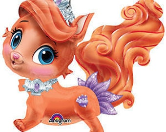 Princess TREASURE Ariel's Kitten Palace Pets Party Airwalker Balloon