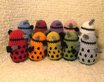 Dalek Plushie - One Color Daleks