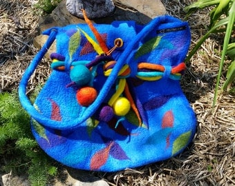Stunning Felted Bag