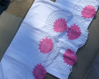 Crochet Pillow Cases