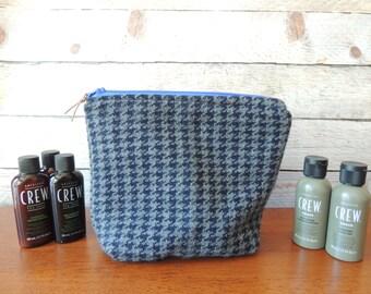 Men's Shaving Bag - Cashmere - Luxury Dopp Bag - Travel Bag