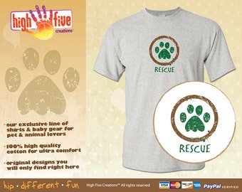 Dog T-Shirt - Rescue