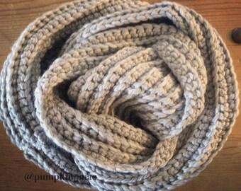 NEW Infinity Scarf / Chunk crochet scarf / Winter Scarf / Loop Scarf / Winter Shawl / Stocking Stuffee / Perfect Gift / Present