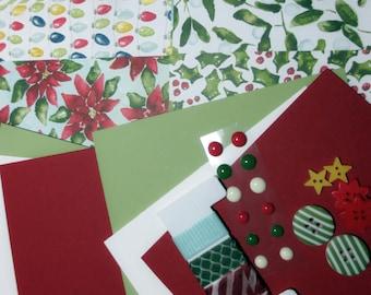 Stampin' Up! Try Me Kit - Card stock, Designer Paper, Embellishments, Washi Tape