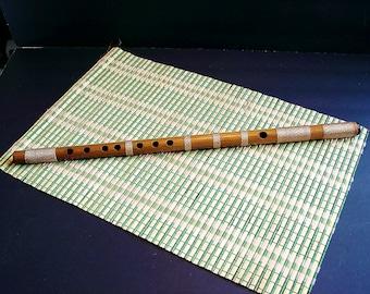 Shinobue Japanese  Flute. Key of C#.Bitter Bamboo. Professional .