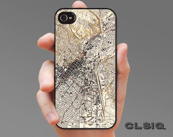 Vintage Los Angeles Map Case for iPhone 6/6S, 6+/6S+, 5/5S, 5C, 4/4S, iPod Gen 5, Samsung Galaxy S6, Galaxy S5, Galaxy S4, Galaxy S3