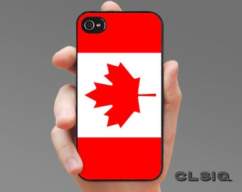 Canadian Flag Case for iPhone 6/6S, 6+/6S+, 5/5S, 5C, 4/4S, iPod Gen 5, Samsung Galaxy S6, Galaxy S5, Galaxy S4, Galaxy S3