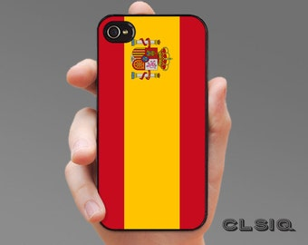Spanish Flag Case for iPhone 6/6S, 6+/6S+, 5/5S, 5C, 4/4S, iPod Gen 5, Samsung Galaxy S6, Galaxy S5, Galaxy S4, Galaxy S3