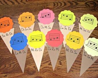 Pentatonic Solfege Matching Ice Cream Game