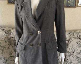 ESCADA Grey Blazer Size:6