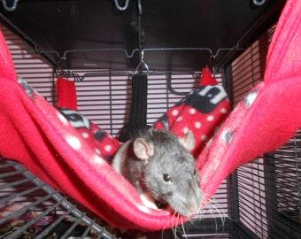 Skull Themed Rat Hammock