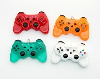 Mini Playstation Controller Charm