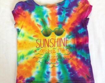 Kids Funky Tie Dye Tshirt size 24 month K085