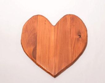 Pallet wood heart, Reclaimed wood heart