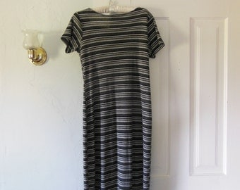 90s Striped Stretch Dress