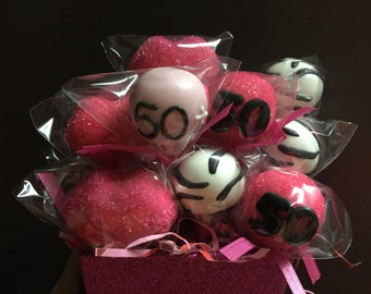 Fifty and Fabulous Cake Pops