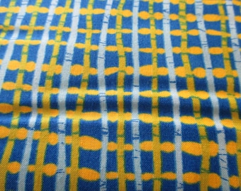 Quilting Weight Cotton Fabric From Outside in by Malka Dubrawsky for Moda in Cornflower Multi 1 yard