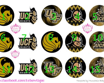 "1"" Bottle Cap Images - University of Central Florida"