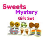 Sweet Mystery Earring Grab Bag ... 6 Pairs of Dessert Earrings