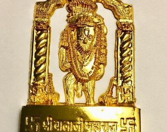 Mehandipur Balaji Hanuman Idol Made of 12 Ingredients - Remove Black Magic