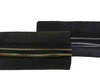 CLUTCH with zipper Design