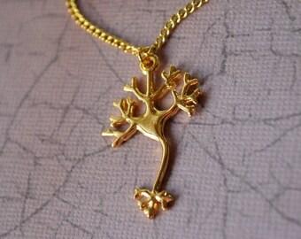 Biolojewelry - Neuron Science Necklace