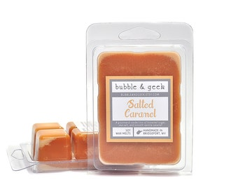 Salted Caramel Scented Soy Wax Melts