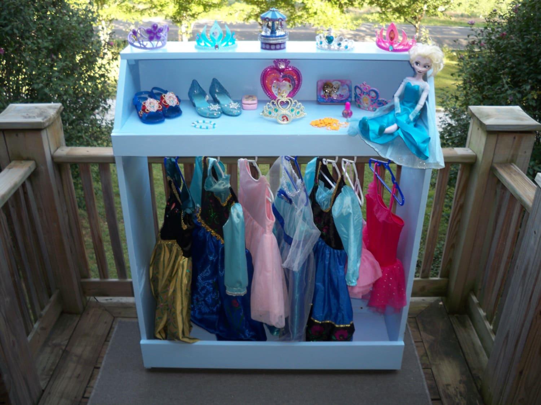 kids dress up stationdress up storagedress up closetdress. Black Bedroom Furniture Sets. Home Design Ideas