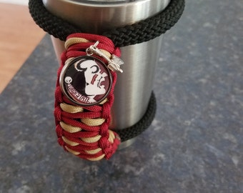 RTIC/YETI Tumbler Handle in FSU Tag and charms