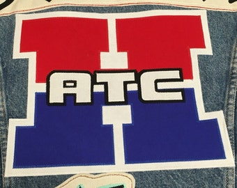 Honda ATC patch handmade