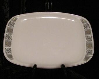 Copeland Spode Dauphine Rectangular Platter Fleur De Lis