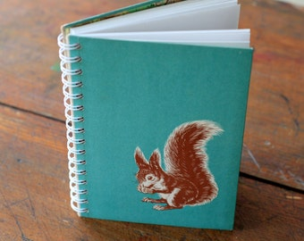 "Wire Bound Journal Tartuensis College ""Squirrel"", College Notebook"