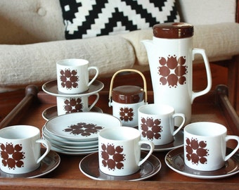 Mid Century Coffee Set by Lagardo Tackett fro Kelco Japan