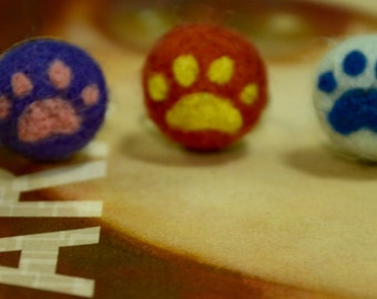 PAW- Felted Ring Pin Cushion (Pick 1)