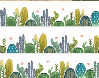 1 Roll of Limited Edition Washi Tape: Cactus