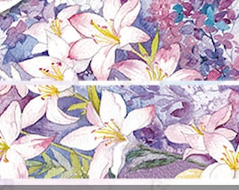 1 Roll of Limited Edition Washi Tape: Lily