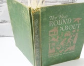 The New Round About Reader. The Alice and Jerry Books. Vintage Children's School Book. Circa 1951. Collectible Pieces of American History.