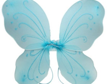 Aqua Butterfly Wings