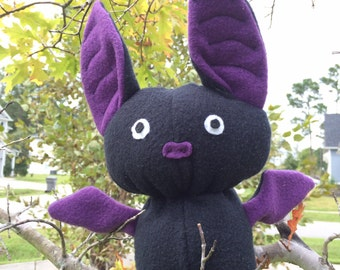 Bat Plush 'Radar' purple