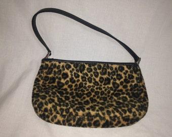 cheetah leopard purse