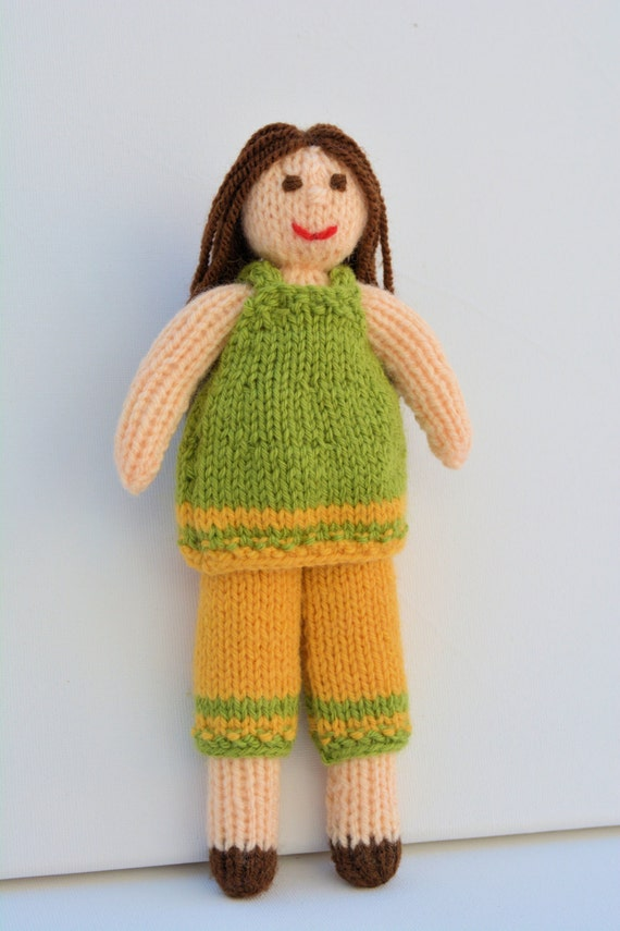 Rag Doll Pattern, Rag Doll Dress, Knit Doll, Autumn,Doll Pattern,Doll Knittin...