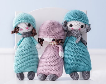 Amigurumi PATTERN - Doll #1 - CROCHET