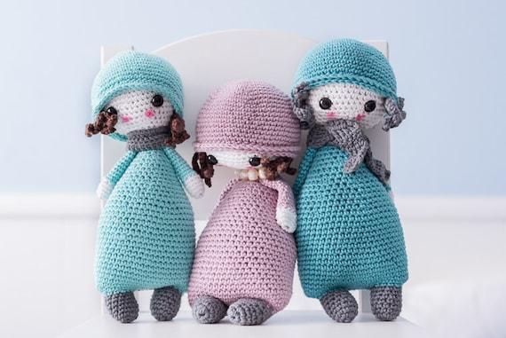 Stitch Amigurumi Doll Pattern : Amigurumi PATTERN Doll 1 CROCHET
